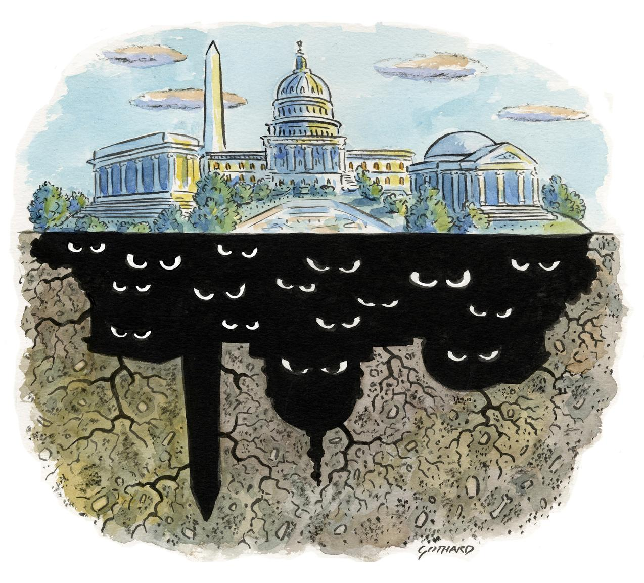 Планы «глубинного государства» и как к ним хочется примазаться Горбачев