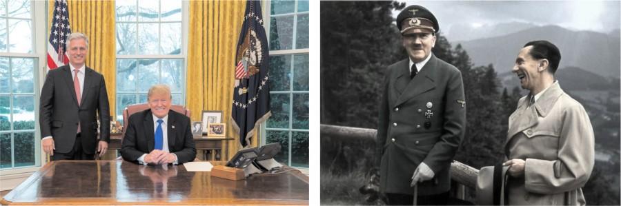 Фашизм в США перестал притворяться и уже открыто действует по гитлеровским методичкам