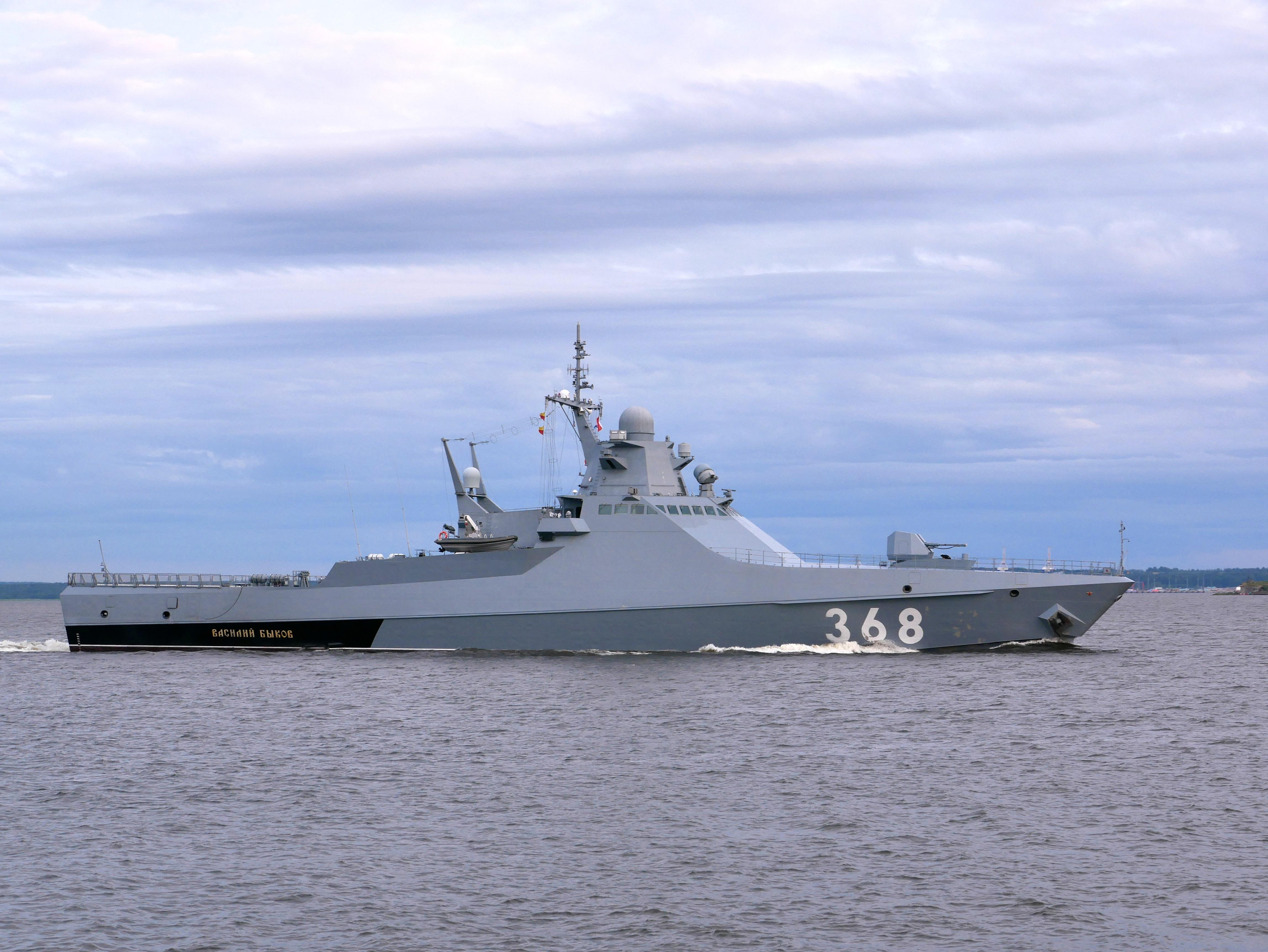 Российское военное кораблестроение постепенно приходит в себя