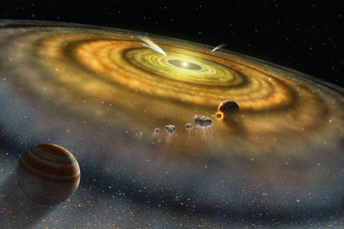 Фантазии «учёных» о рождении планет из газа и пыли