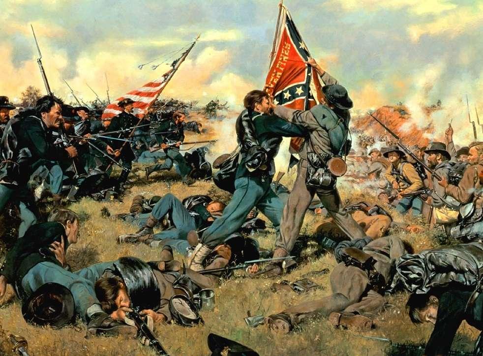 Неизвестная гражданская война в США между югом и севером