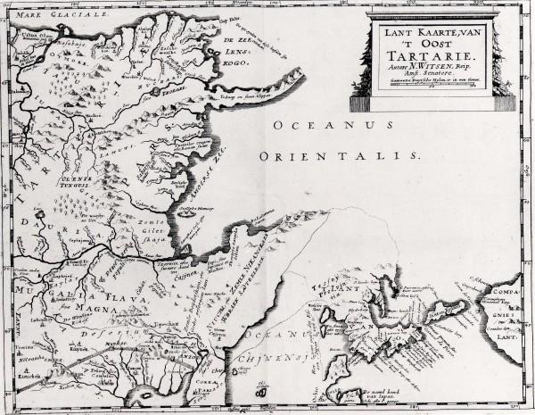 «Северная и Восточная Тартария», описанная в трактате Николаса Витсена
