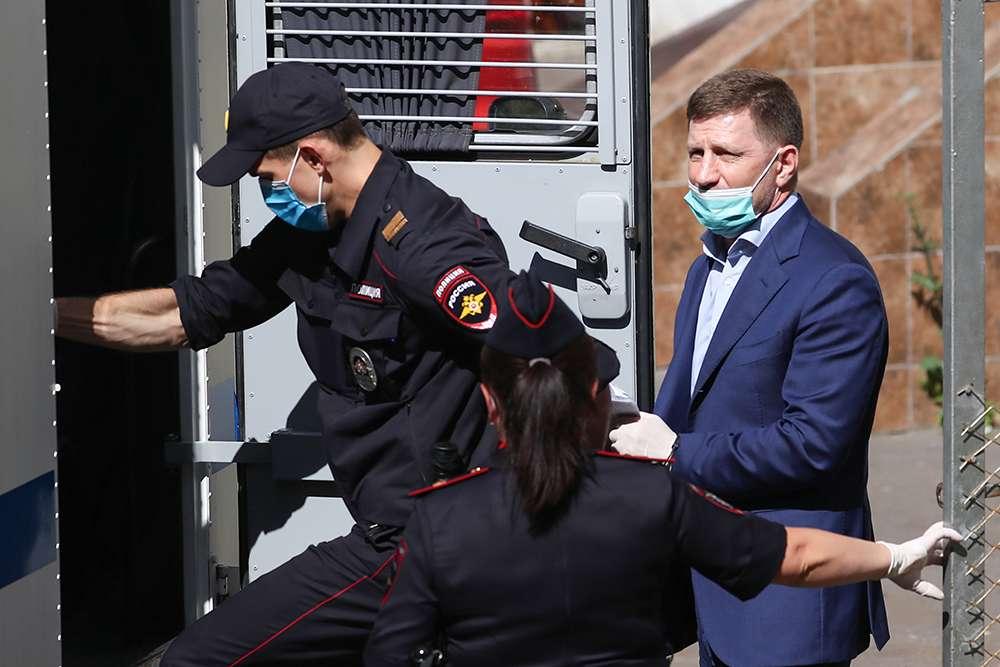 Дело бывшего губернатора Хабаровского края Фургала как отголосок коронабесия
