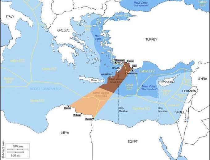 ЕС хочет ресурсы и Вост. Средиземноморье