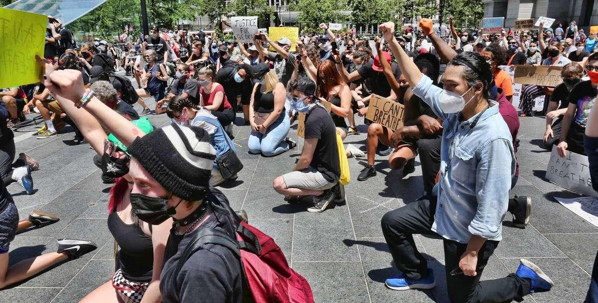 Воспитание и американские протесты в США