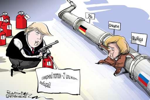 «Северный поток – 2» расколол Запад: ЕС взбунтовался против своих кураторов из США