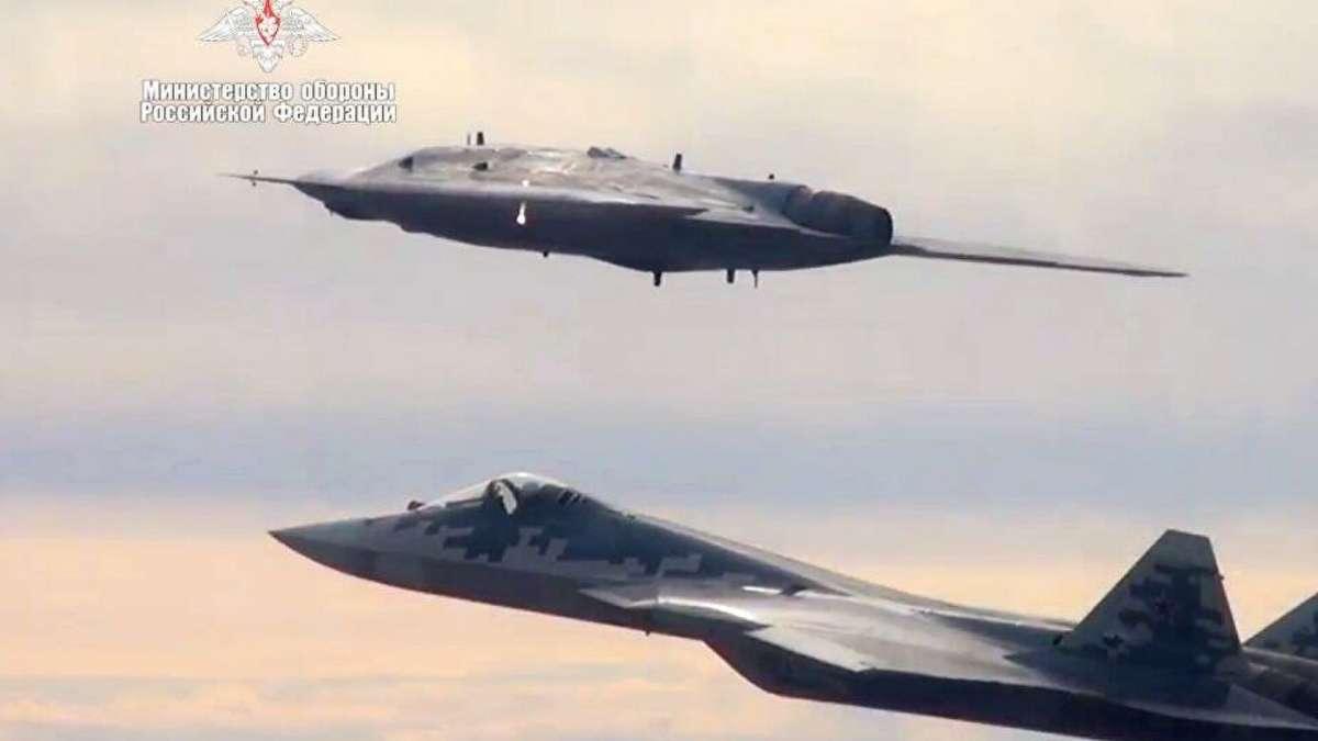 БПЛА С-70 «Охотник» в интеграции с Су-57 может стать настоящим прорывом