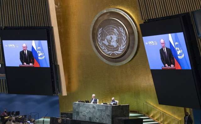 Путин, Трамп и Си в ООН как предвестники мировой войны Алой и Белой розы