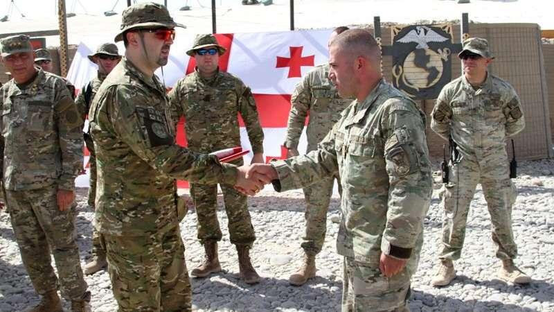 Солдаты Грузии стали подопытными кроликами в испытании биологического оружия США