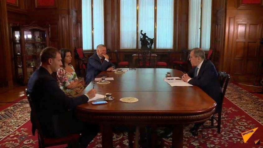 Интервью Сергея Лаврова о ситуации в мире: Карабахе, Турции, Белоруссии, Украине и Ближнем Востоке