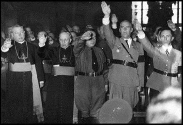 Связь спецслужб Ватикана с нацистами Третьего Рейха