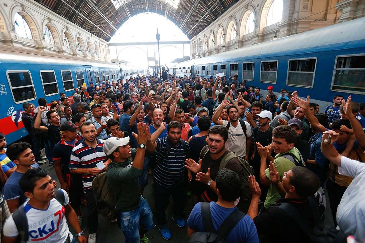 Европу захватывают мигранты – оккупанты
