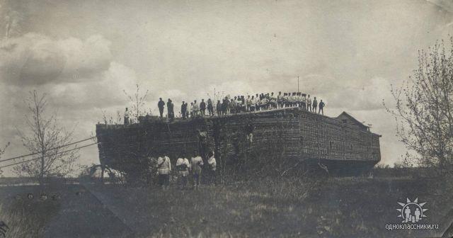 Беляны – русский деревянный «авианосец» вековой давности