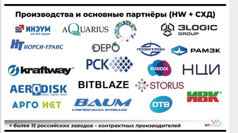 Производство российской электроники и процессоров