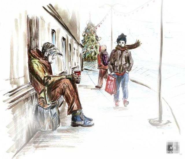 Бездомные в Европе – горькая реальность «райской жизни»
