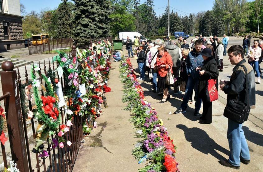 Трагедия в Доме профсоюзов в Одессе 2 мая 2014 года – на совести еврейской хунты и украинских нацистов