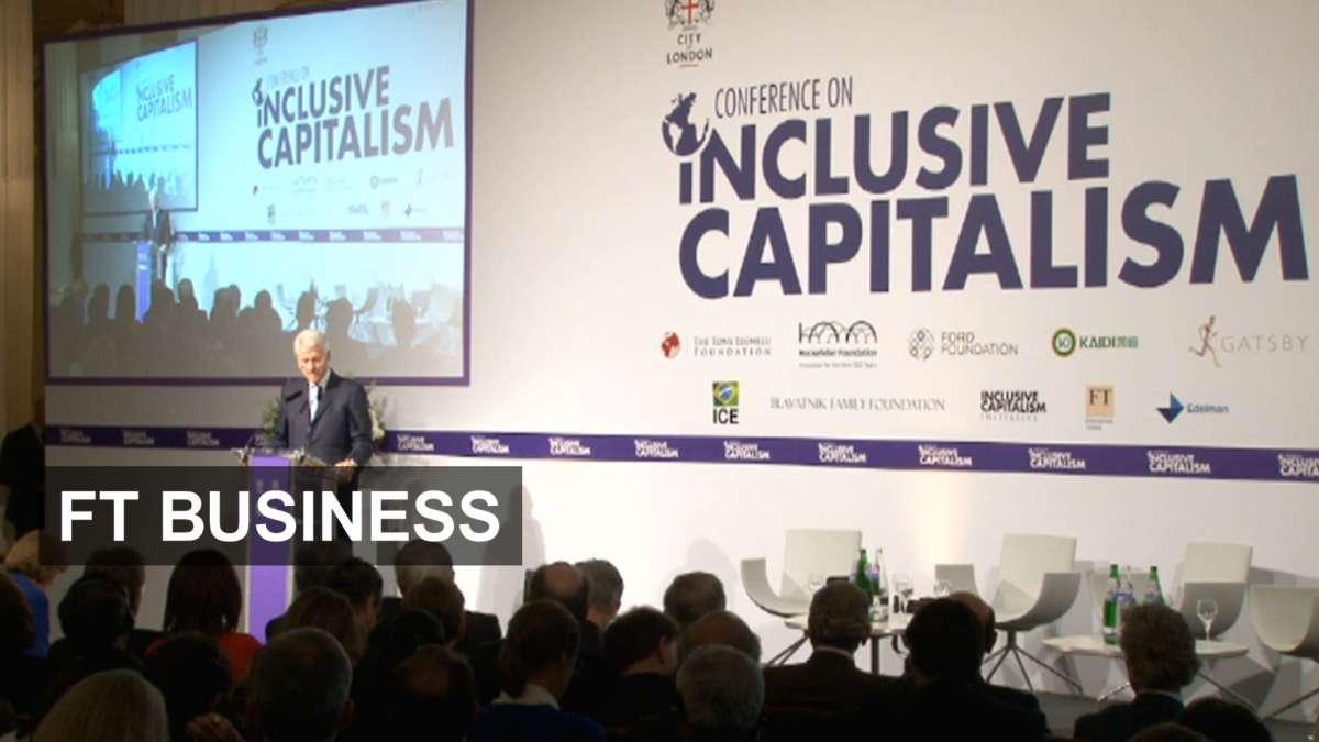Инклюзивный капитализм для спасения глобальных олигархов