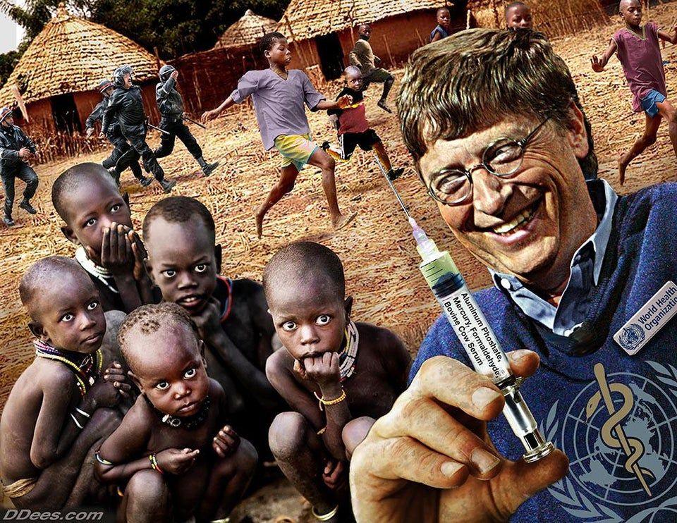 Лекарства и вакцины – метод контроля общества мировыми паразитическими «элитами»