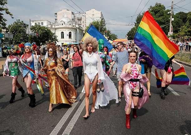 Наступление на Россию социальных паразитов под радужными флагами