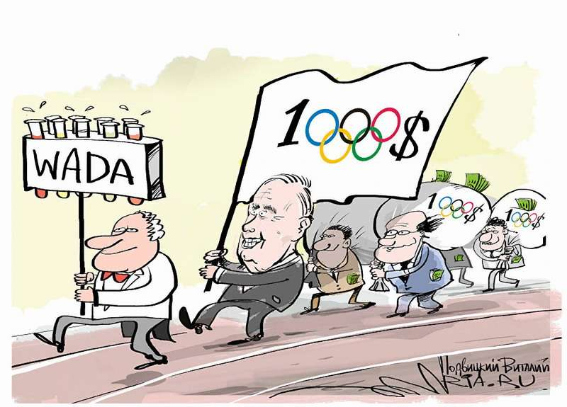 Подлинное лицо Олимпиады далеко от спорта и принципов честной состязательной борьбы