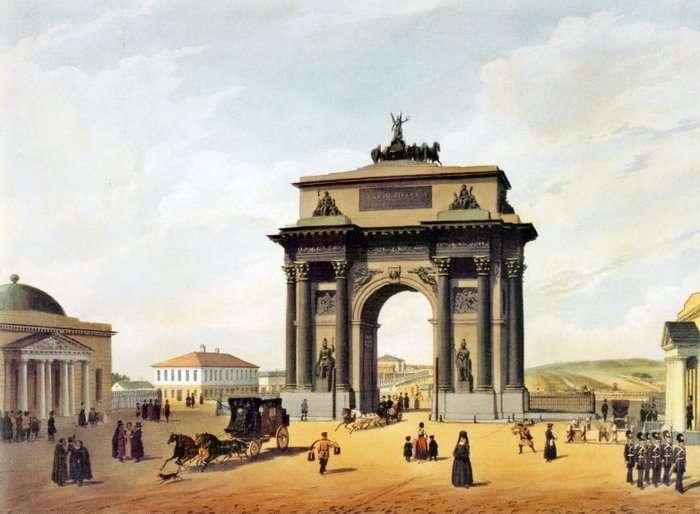 Триумфальные арки – это телепорты для перемещений?