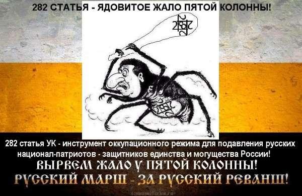 282 статья для русских или для виновных мигрантов
