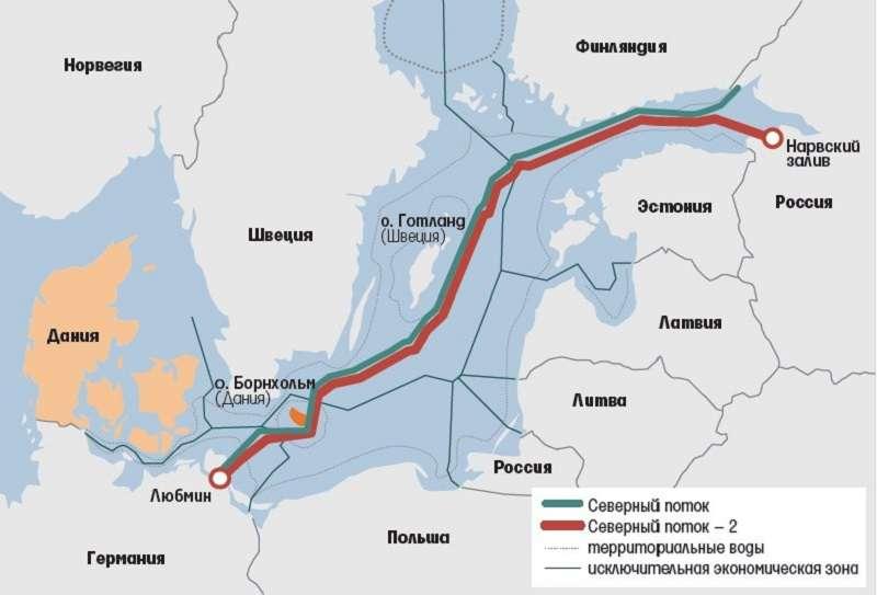 Северный поток – 2: промежуточный финиш
