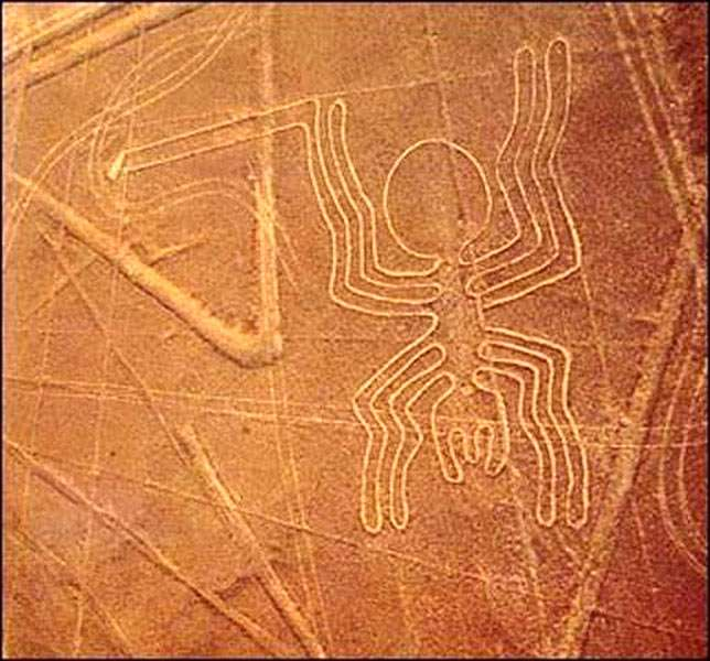 Рисунки в пустыне Наска