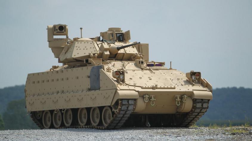 Сирия. В ответ на броневой Bradley, Россия готовит вертолёты