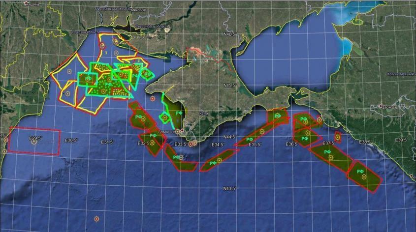 Кавказ-2020. Россия закрыла акваторию вдоль всего Крыма от кораблей НАТО