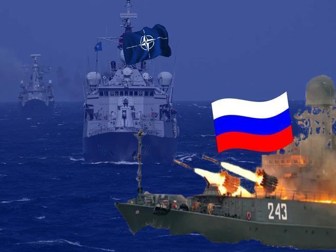 ВМФ России не пропустил военные корабли НАТО к Крыму