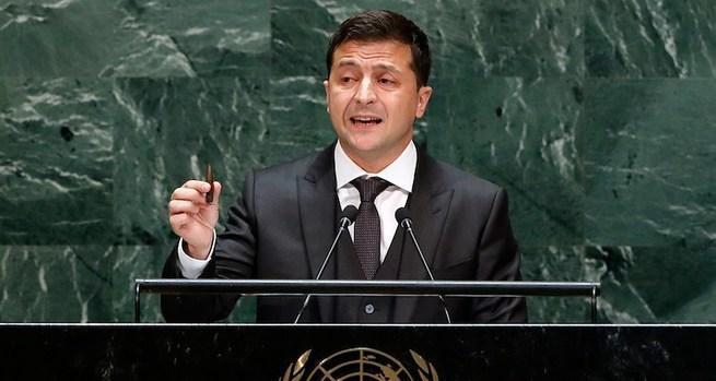 Речь Зеленского в ООН, или как запустили юмориста на трибуну