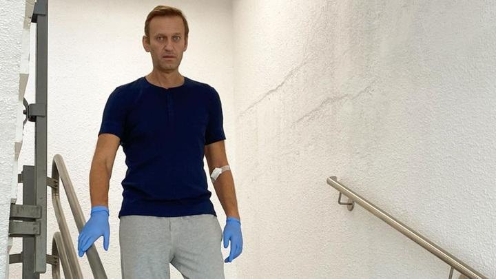 Алексей Навальный выписан из клиники Charite
