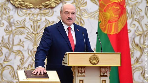 Лукашенко удивил инаугурацией противников внутри и снаружи Белоруссии