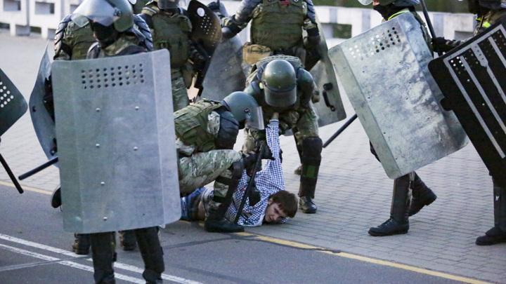 В Минске задержаны десятки майданщиков на акциях протеста
