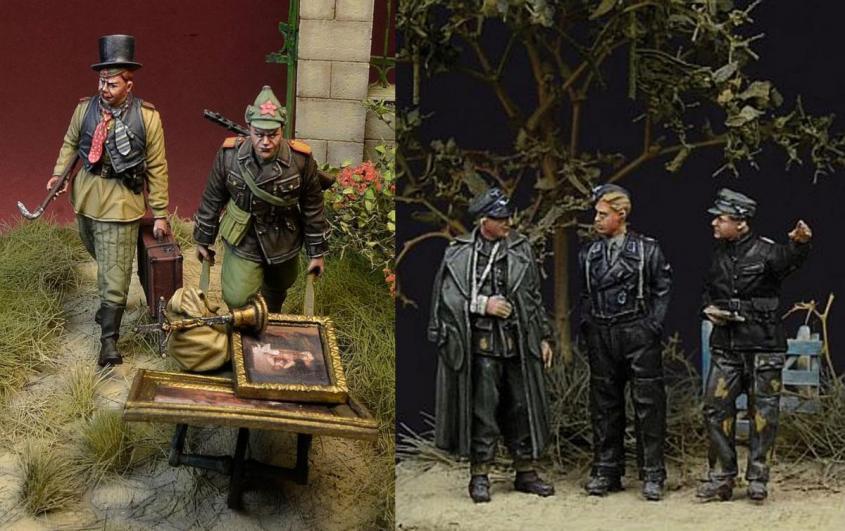 Польская русофобия пробила очередное дно: поляки выпустили фигурки советских воинов в виде мародеров