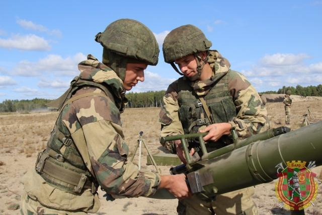 Российско-белорусские военные учения «Славянское братство – 2020»