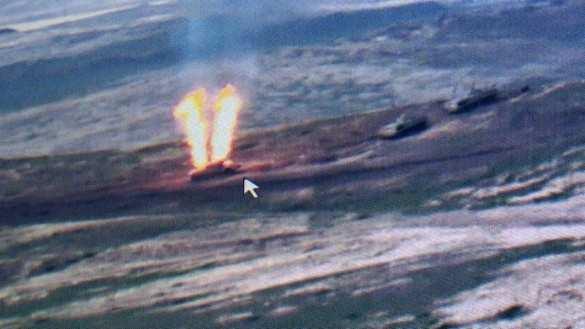 Горящие танки и БМП: армия Армении уничтожает наступающие силы врага (ВИДЕО 18+) | Русская весна