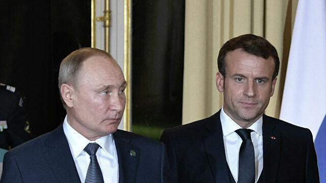 Зачем Макрон слил в прессу свой разговор с Путиным?