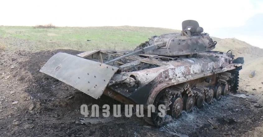 Потери азербайджанской армии в Нагорном Карабахе