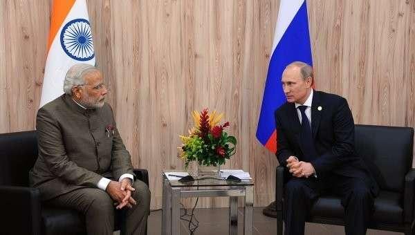 Россия и Индия запланировали подписать соглашения о военном сотрудничестве