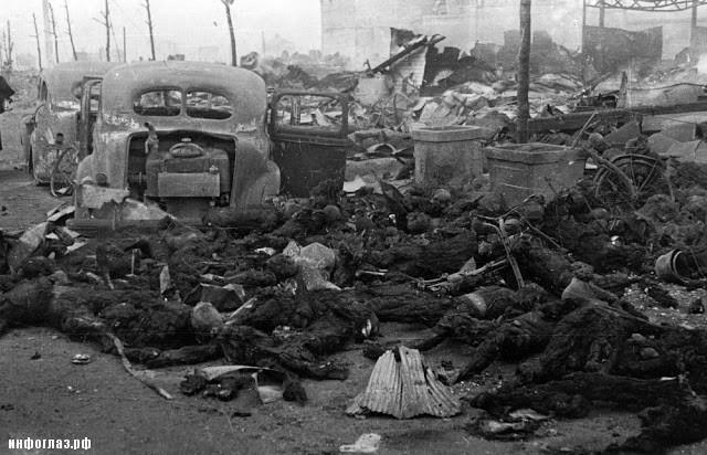 В Токио от обычных бомб погибло больше людей, чем в Нагасаки от атомной