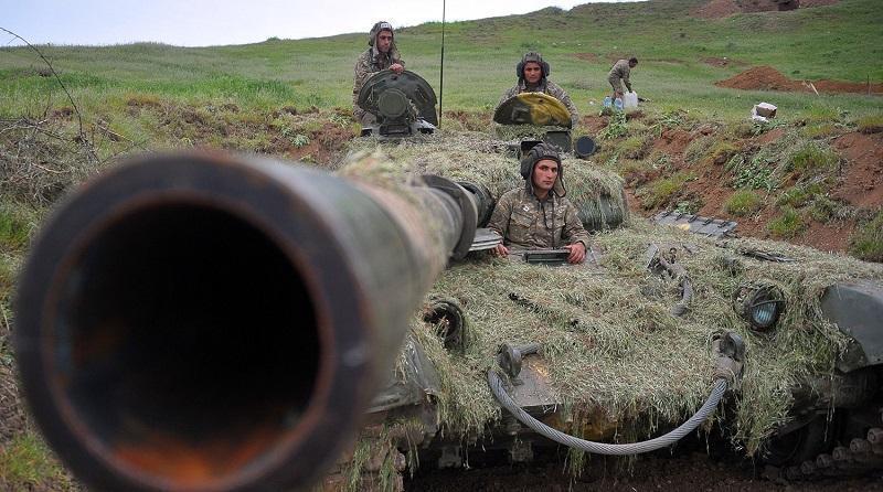 Война в Карабахе. Азербайджан против Армении 29.09.2020