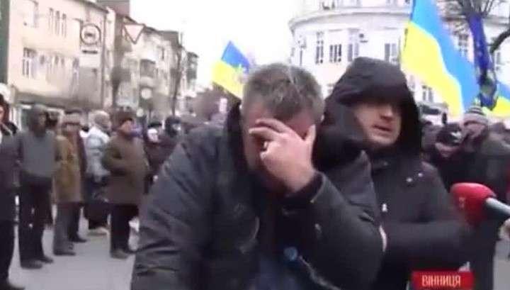 Митинг в Виннице: участники продолжат беспорядки в воскресенье