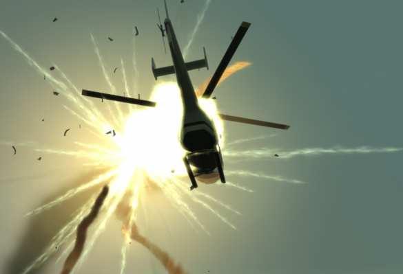 Карабах: кадры уничтожения азербайджанского вертолёта. Чудовищный взрыв   Русская весна