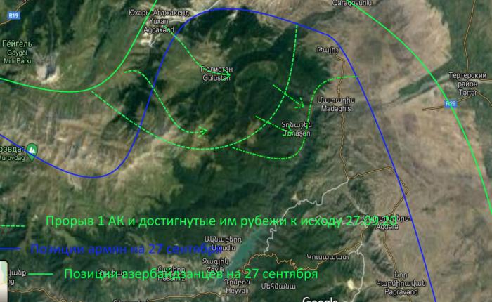 Война в Карабахе 2020 (день шестой): о боевом духе Азербайджана