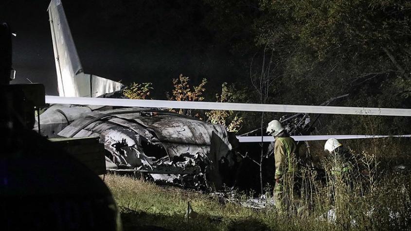 Упавшему на Украине Ан-26 не дали приземлится из-за борта с сыном главы ВВС Украины Дроздова