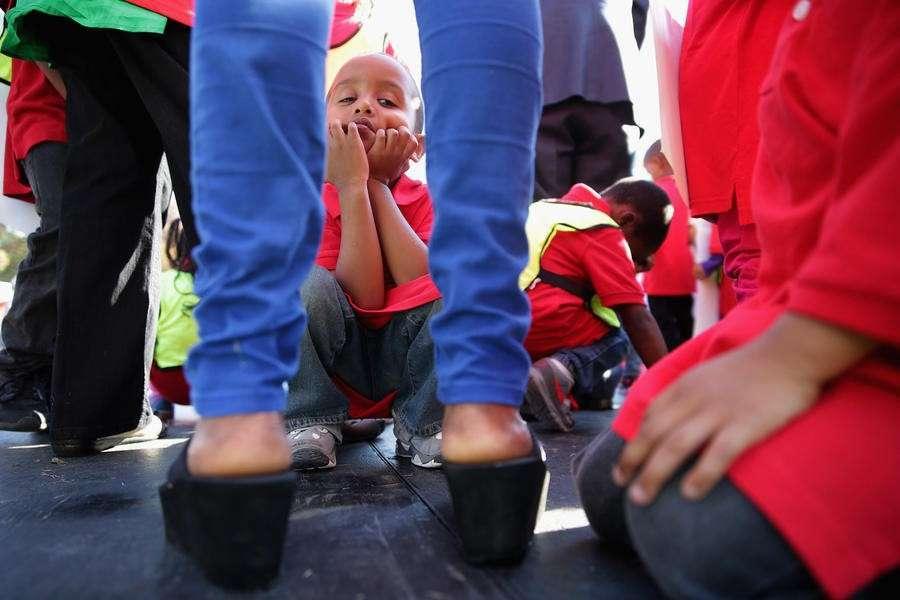 Каждый третий ребёнок в крупных городах США живёт за чертой бедности