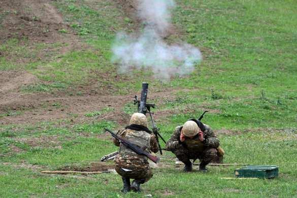 Армия обороны Карабаха уничтожила резервные силы Азербайджана в тылу | Русская весна