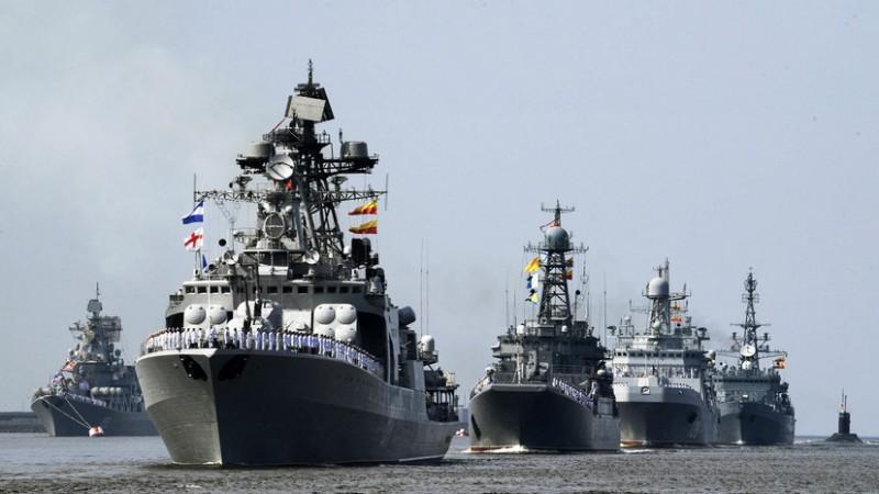 Запад совсем стыд потерял. Флот НАТО пытается остановить «Северный поток-2»